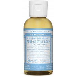 Dr. Bronner's 18-in-1 hajusteeton nestesaippua 60ml