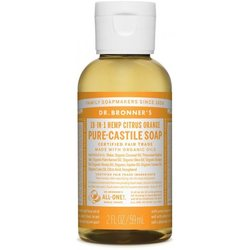 Dr. Bronner's 18-in-1 sitrussaippua, 60ml