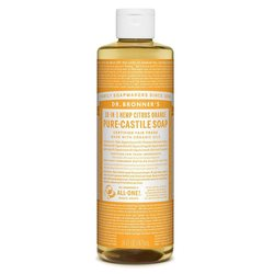 Dr. Bronner's 18-in-1 sitrussaippua, 475ml