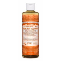 Dr. Bronner's 18-in-1 teepuusaippua 240ml