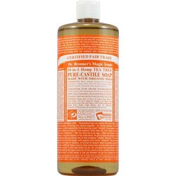 Dr. Bronner's 18-in-1 teepuusaippua 475ml
